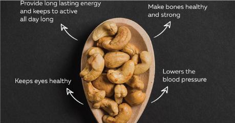 Dinh dưỡng trong hạt điều